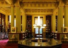 图书馆在议会房子,墨尔本,澳大利亚里 免版税库存照片