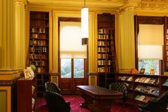 图书馆在议会房子,墨尔本,澳大利亚里 库存图片