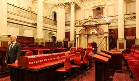 图书馆在议会房子,墨尔本,澳大利亚里 免版税库存图片