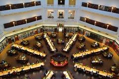 图书馆学习区域 免版税图库摄影