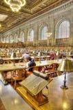 图书馆新的公共约克 库存照片