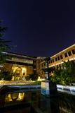 图书馆清华大学 免版税库存照片