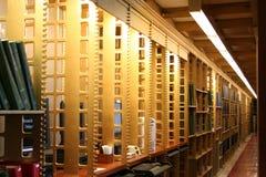 图书馆空间 图库摄影
