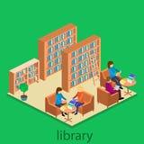 图书馆等量内部  库存照片