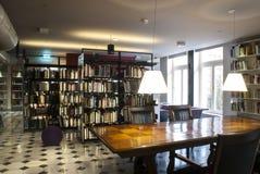 4图书馆 免版税库存照片