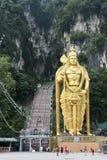 巴图使印度宗教纪念碑吉隆坡马来西亚陷下 库存图片