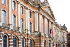 图卢兹Mairie 库存图片