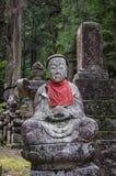 图在日本公墓 免版税库存照片