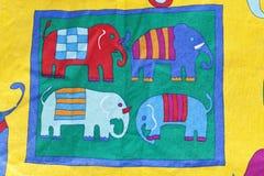 图大象抽象 免版税库存照片