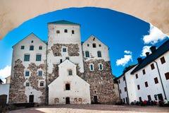 图尔库城堡 免版税库存照片