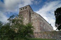 图尔库, Finnland城堡  免版税图库摄影