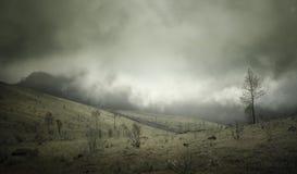 贡图尔火山 免版税图库摄影