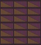 图形式的音量控制器 向量例证