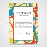 图形设计与手拉的乱画样式的模板文件 向量例证