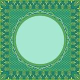 图形设计元素的伊斯兰教的装饰品艺术 免版税库存图片