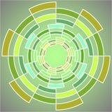 图形设计的抽象几何图 皇族释放例证