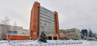 图拉,俄罗斯, 2015年1月, 31日:仪器做设计事务所中央设计研究局分支  免版税图库摄影
