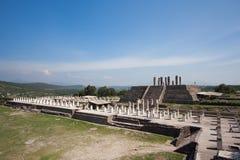 图拉de亚伦得古老废墟  免版税库存图片