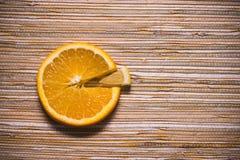 图柠檬桔子 库存照片