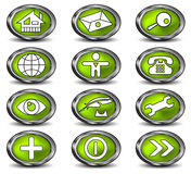 图标万维网 免版税图库摄影