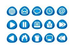 图标互联网万维网 免版税库存照片