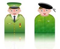 图标军人人 免版税库存照片