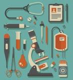 图标医疗集向量 图库摄影