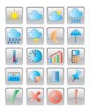 图标图象向量万维网 免版税库存图片