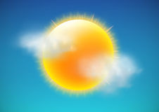 图标天气 免版税图库摄影