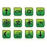 图标宗教信仰 皇族释放例证