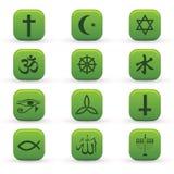 图标宗教信仰 库存例证