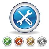 图标工具 库存例证