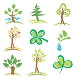 图标工厂结构树 库存例证