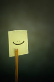 图标微笑 库存图片