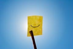 图标微笑 免版税图库摄影