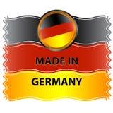图标德国制造 免版税库存照片
