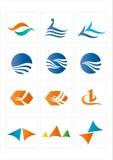 图标徽标 免版税图库摄影