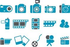图标照片集 免版税图库摄影