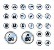 图标站点万维网 库存例证