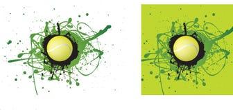 图标网球 库存图片