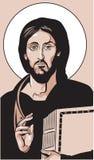 图标耶稣 免版税图库摄影
