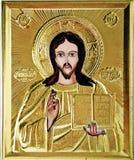 图标耶稣 皇族释放例证