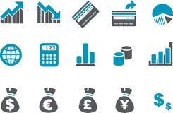 图标货币集 免版税图库摄影