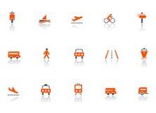 图标运输 免版税图库摄影
