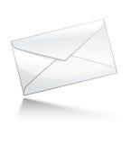 图标邮件 免版税图库摄影