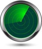 图标雷达 免版税库存照片