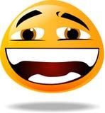 图标面带笑容 向量例证