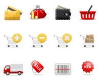 图标购物 免版税图库摄影