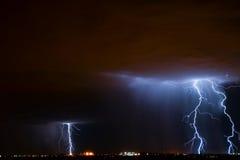 图森闪电 库存图片