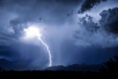 图森闪电 库存照片